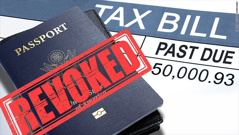IRS Can Revoke Passport