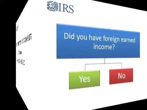 Foreign Earned Income Exclusion for 2017