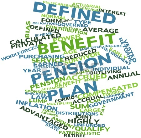 asset protection for defined benefit plan